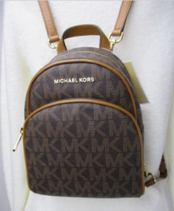 MICHAEL KORS PVC ABBEY XS Extra Small BACKPACK